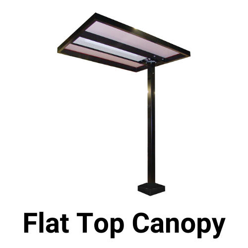 Drive-Thru Flat Top Canopy