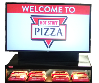 Rickers Single Promo Digital Screen