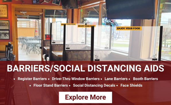 Barriers and Social Distancing Aids